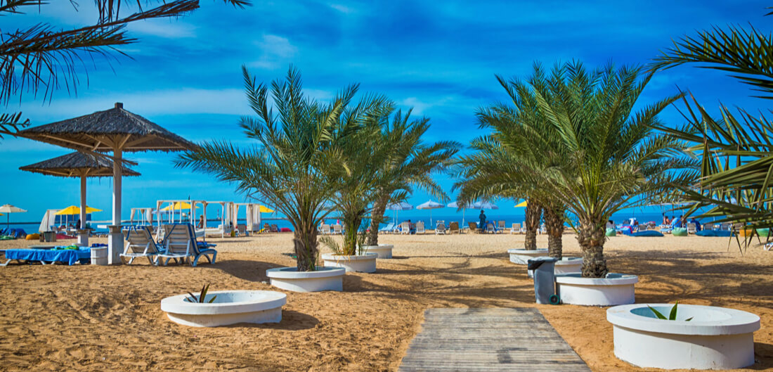 Beach havens in Ras Al Khaimah